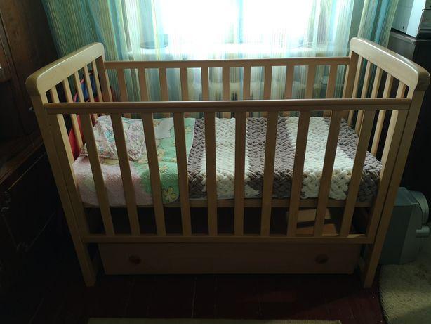 Кроватка Верес Соня ЛД12 бук