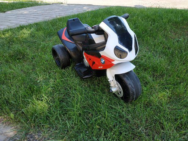 Електромобіль. Дитячий електричний мотоцикл.