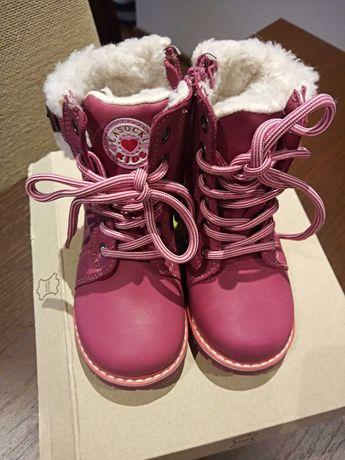 Buty zimowe dla dziewczynki rozm 22 LASOCKI KIDS