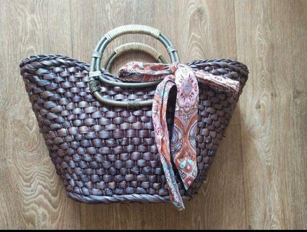 Новая плетёная сумочка