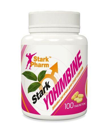 Stark Yohimbine 10 мг 100таб йохимбин жиросжигатель проблемных зон