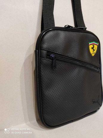 Барсетка мужская ( сумка) puma Ferrari