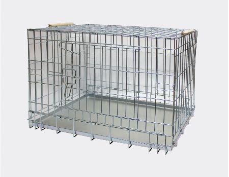 Клетка для собак Волк Вовк 1 Новая со склада, усиленный прут