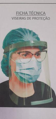 Viseira médica  protecçao