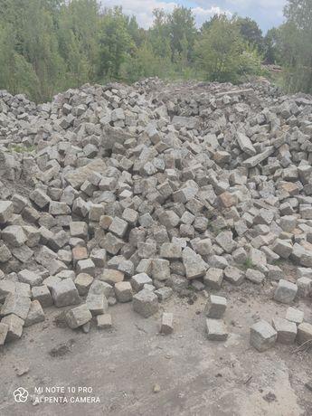 Kostka granitowa-duza