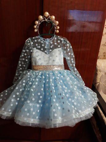 Платье на рост 98-106 см 3-4 года