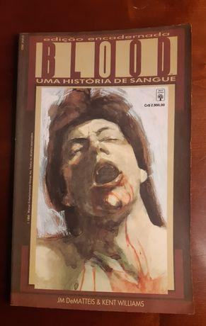 Graphic Novel Marvel Blood