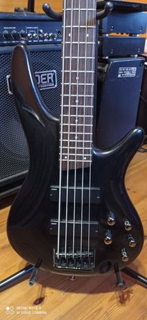 IBANEZ SR 303 - gitara basowa pięciostrunowa na akustyk 12 strunowy