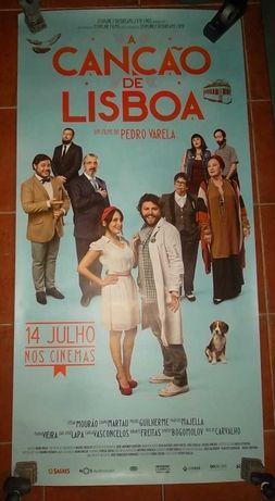 Poster do filme Canção de Lisboa