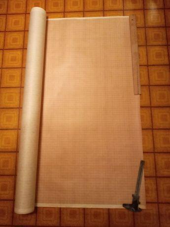 Бумага миллиметровая в рулоне