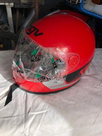 capacete NOS AGV vintage