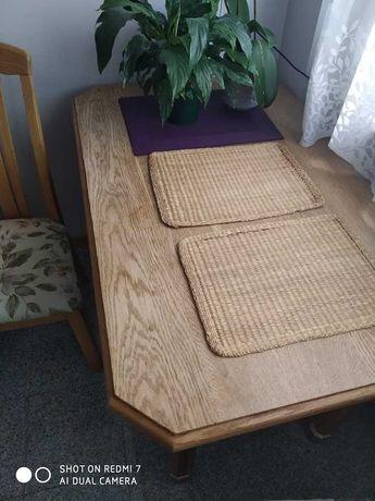 stół kuchenny lite drewno + krzesła gratis