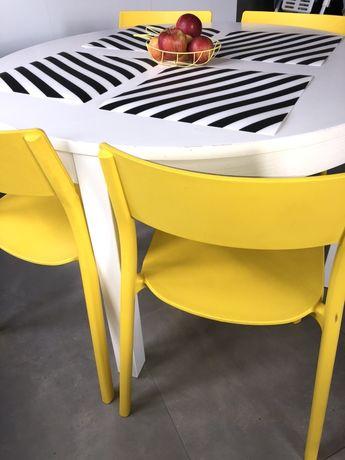 Krzesla krzeslo zolte ikea janinge