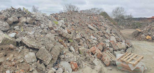 Udostępnienie miejsce na gruz betonowy i ceglany