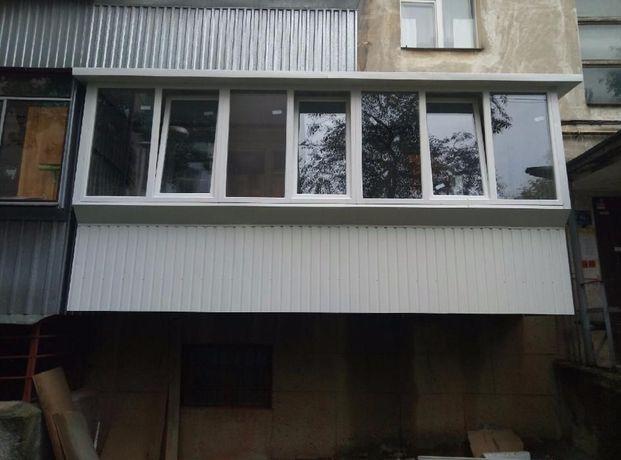РЕМОНТ БАЛКОНА / ЛОДЖІЇ / веранди під ключ. Скління квартир та будинкі