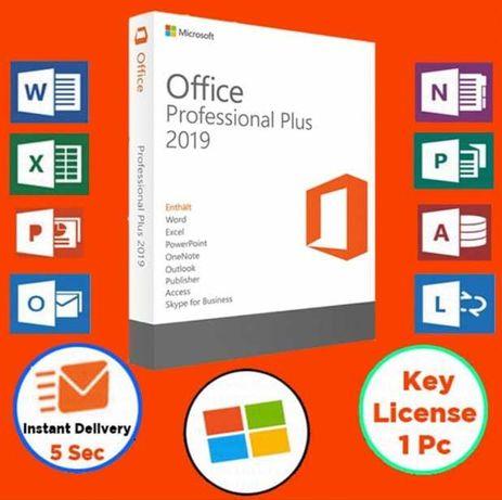 Microsoft™Office 2019 Pro Plus Activation Key