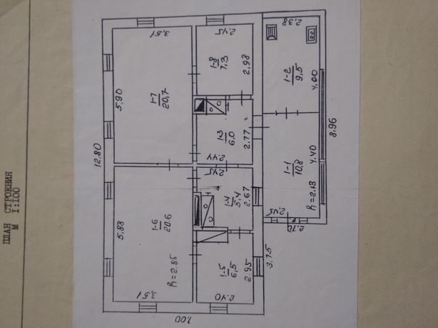Продам дом требующий ремонта