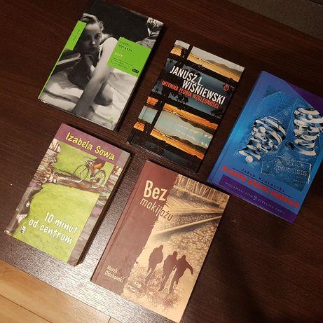 Książki 5 sztuk