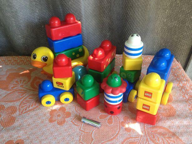 Игрушка конструктор первое лего дупло для малышей