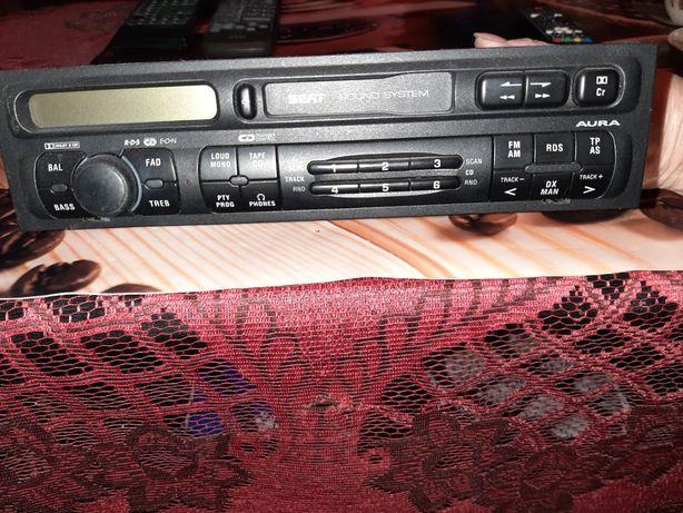 Radiootwarzacz kasetowy AURA