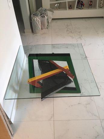 Mesa de centro Kandinsky - 1,06m por 1,06m adquirida na Divani Divani