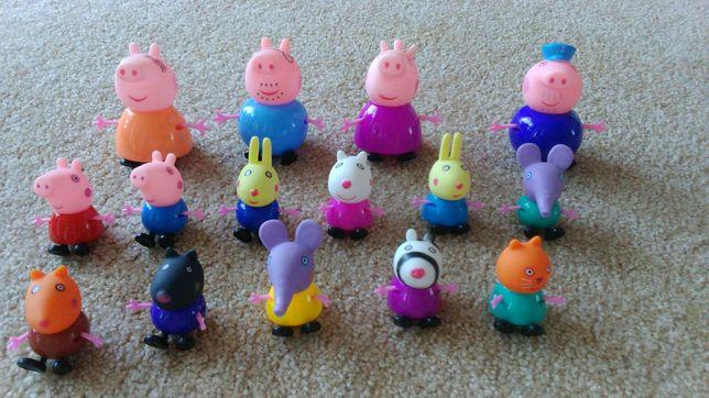 Peppa pig, świnka peppa, pepa, figurki