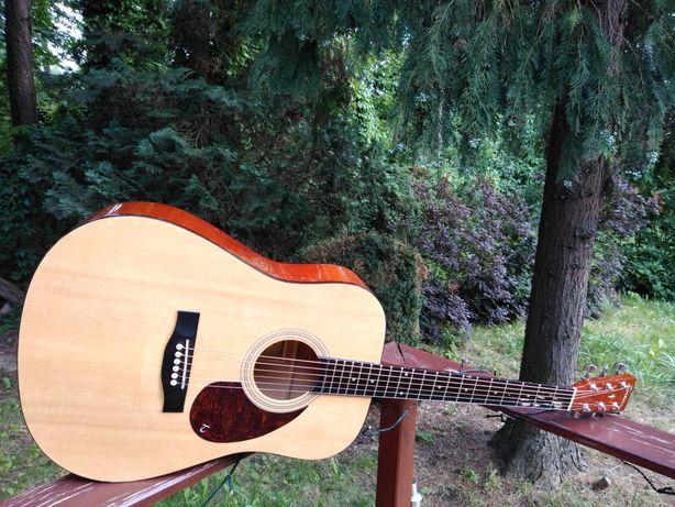 REZERWACJA SALE !! Tania Solidna gitara akustyczna Tenson !!