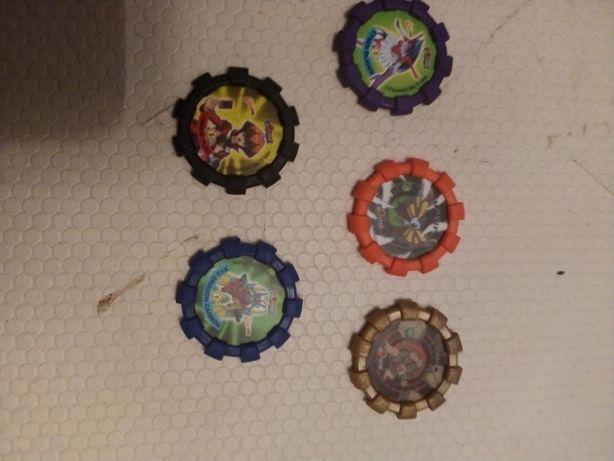 Tazos de várias colecções