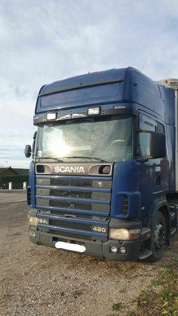 Тягач Scania 420, euro 3