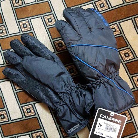 Зимние теплые флисовые мужские перчатки Campri Ski Gloves Mens