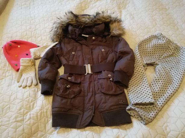 Зимнее пальто Geox на 4 года