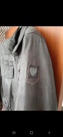 Оригинал!Дорогая Германская кожаная мужская куртка Engbers Boss Bogner