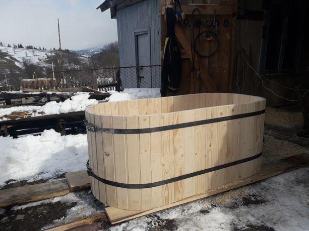 Бочка-купель,дерев'яна ванна.