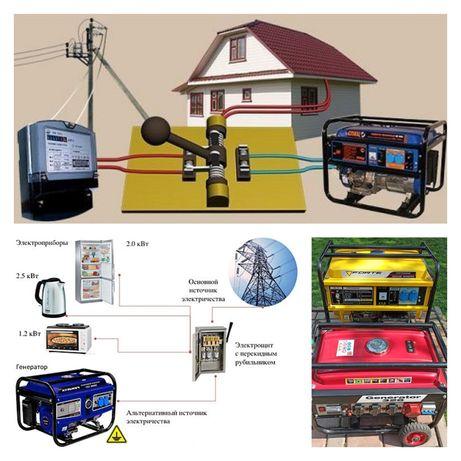 Електроснабжение: электрогенератор бензогенератор электростанция