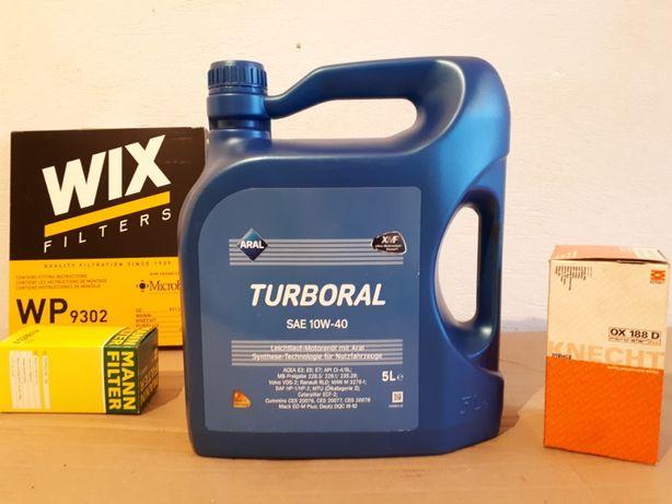 Масло моторное Aral Turboral SAE 10W-40 5 л
