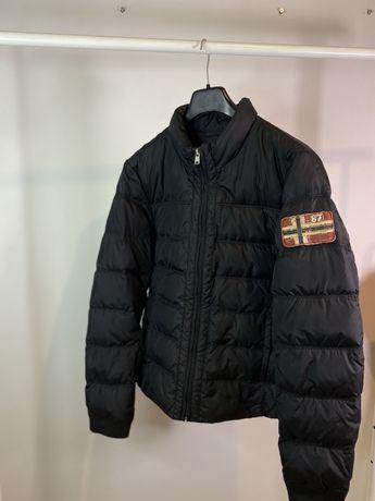 Куртка пуховик Napapijri оригинал L