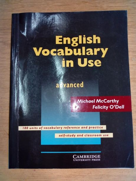 """""""English Vocabulary in Use. Advanced"""" Michael McCarthy"""