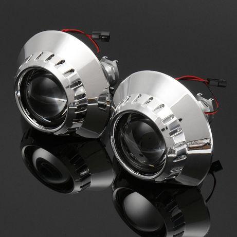 Projetores olho de boi bmw e46