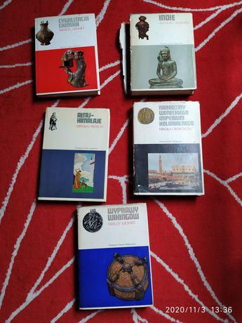 Zestaw książek Indie Cywilizacja chińska wyprawy Wikingów i inne