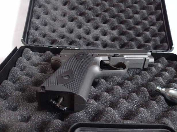 Pistola de Airsoft de CO2, Full Metal Novo