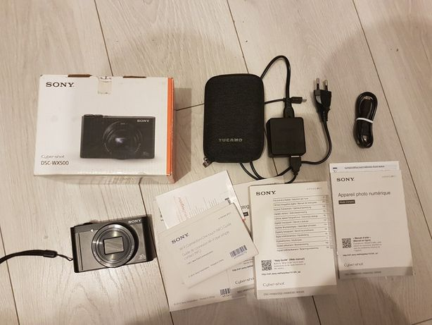 Aparat Sony WX500 Wi-Fi NFC Zoom 30x 18,2 Mpix
