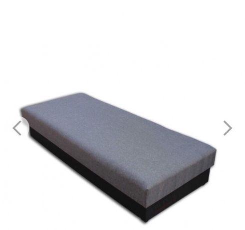 Solidne łóżko pojedyncze tapczan na sprężynach bonel z pojemnikiem !!