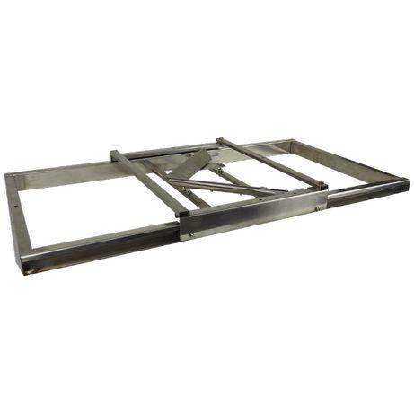 Stół nakładkowy na ramie stalowej na ramki Dadant/Langstroth/Apipol