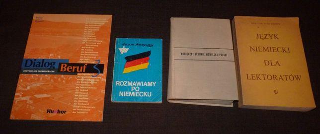 4 podręczniki - Język niemiecki - TANIO!