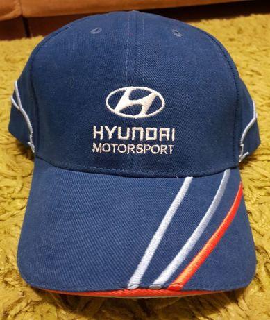 Czapka baseballowa Team Hyundai Motorsport WRC