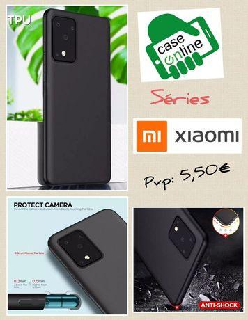 Capa silicone Xiaomi Redmi 9A / Mi Note / Mi Note 10 Lite / Mi 10 Pró