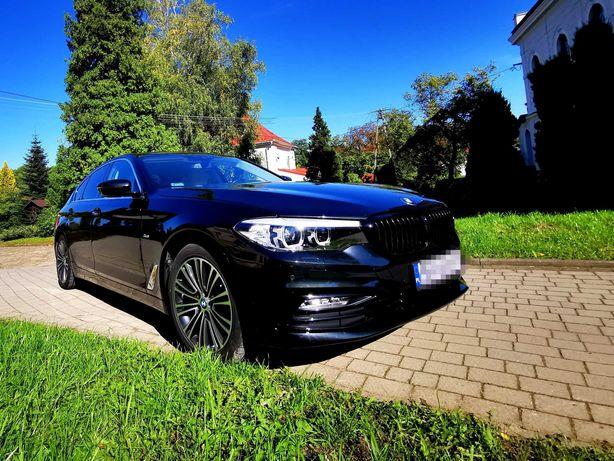 Auto do ślubu * Samochód na wesele * czarne BMW F10 SPORT LINE