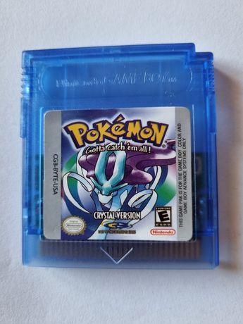 Jogo pokemon crystal - GBA - Gameboy - Game Boy