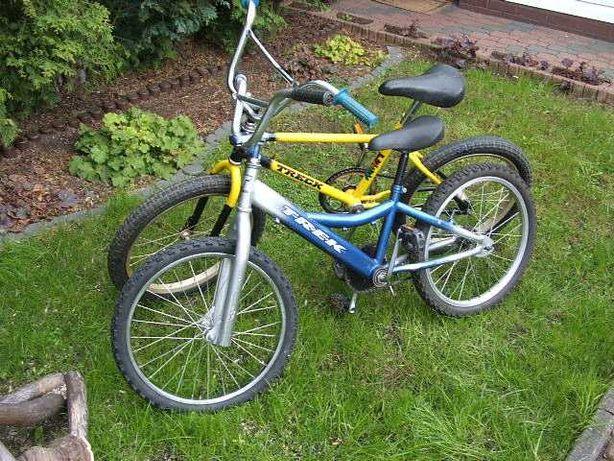 "2 x Rower firmy TREK kola 20""  kask GRATIS"