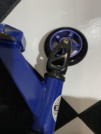 Транспорт Трюковой синий самокат